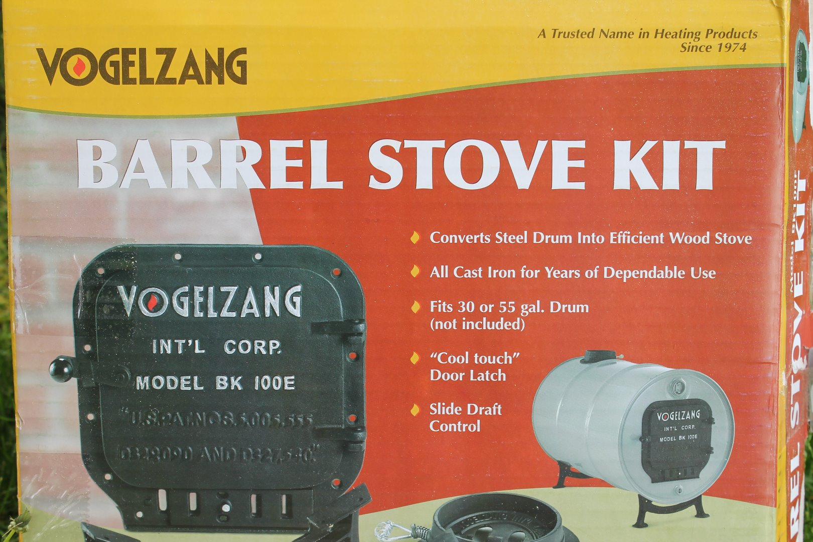 Picture of Step 1.0 - the Barrel Stove - Getting Started