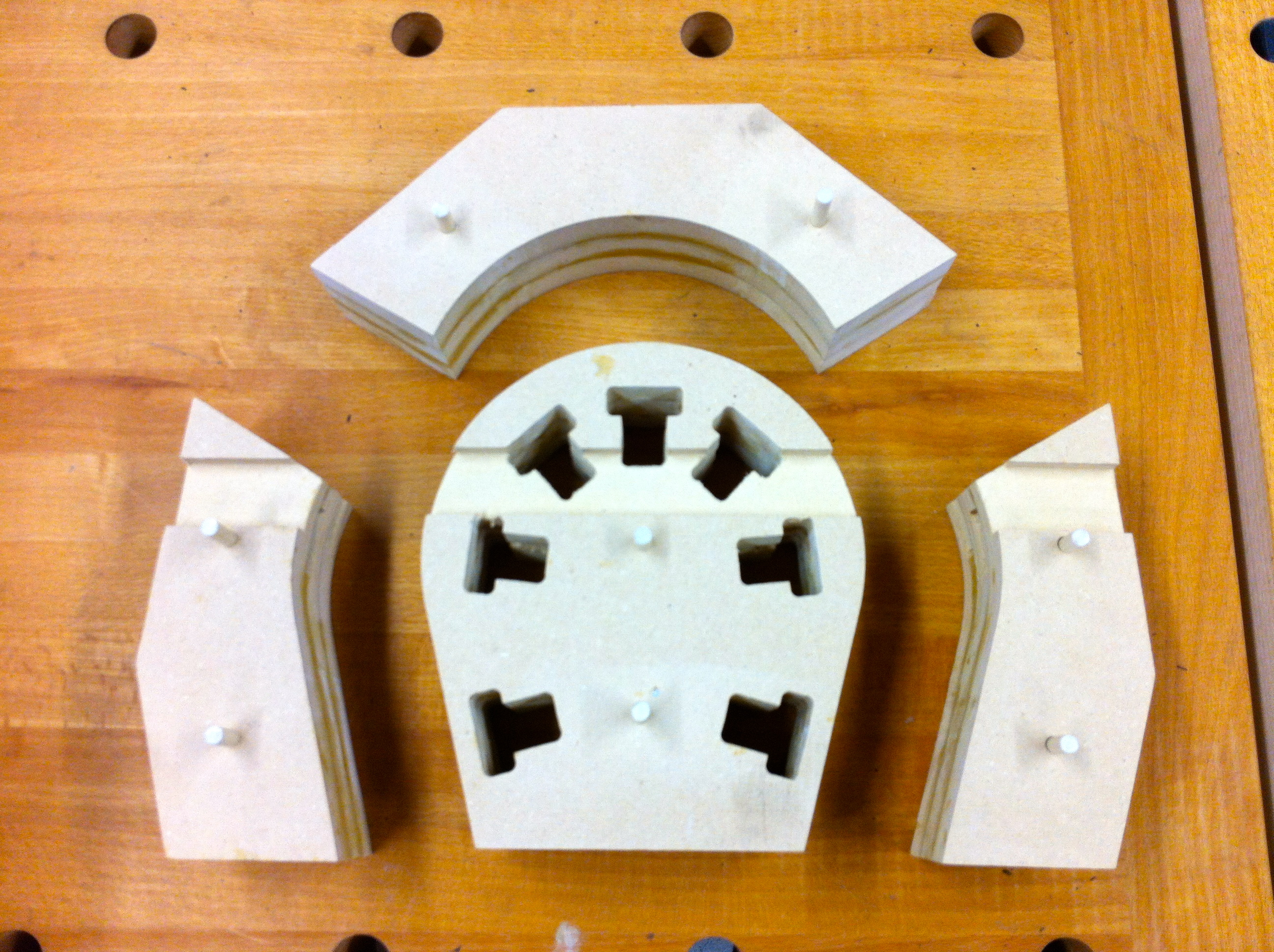 Picture of Unclamp and Finish Mold