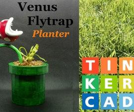 TinkerCAD - Piranha Planter