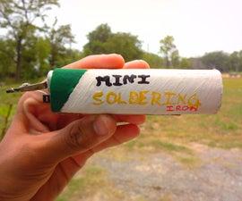 Mini battery powered soldering iron!