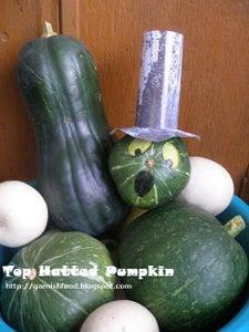 Top Hatted Pumpkin