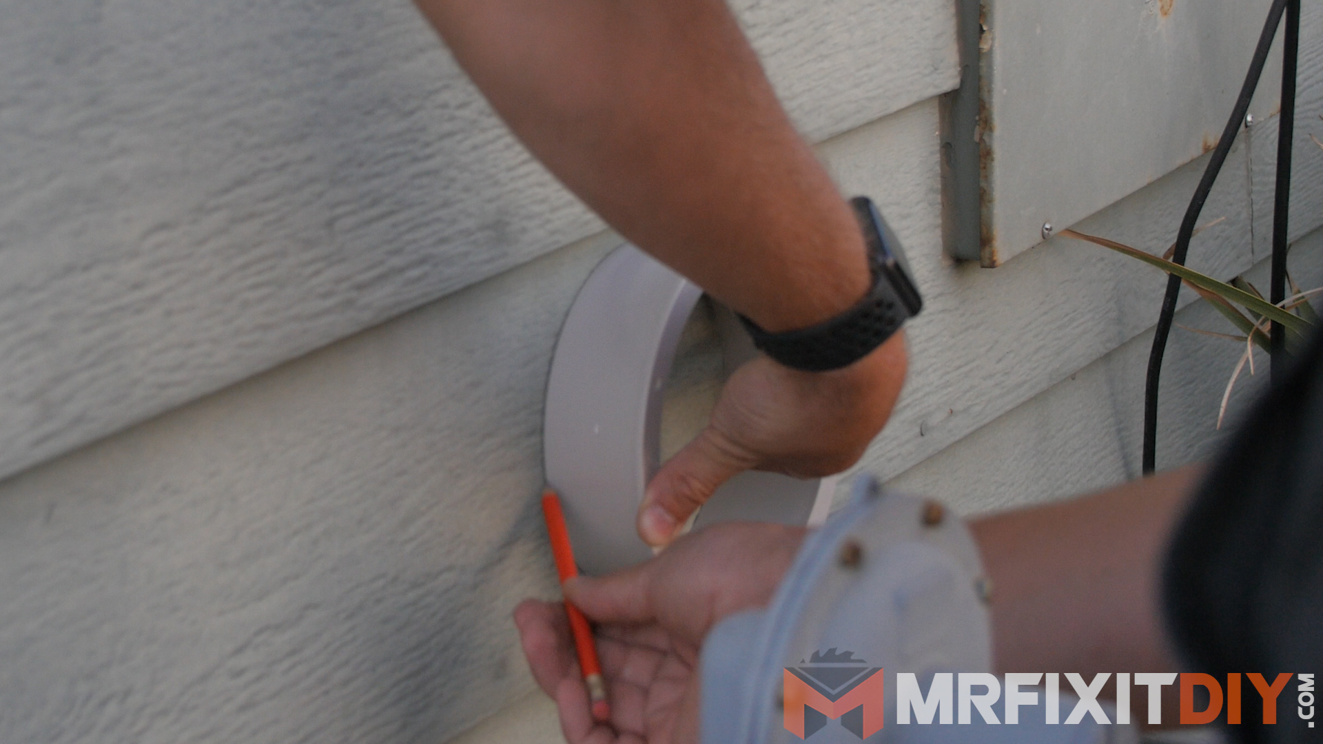 Picture of Drilling Through the Wall
