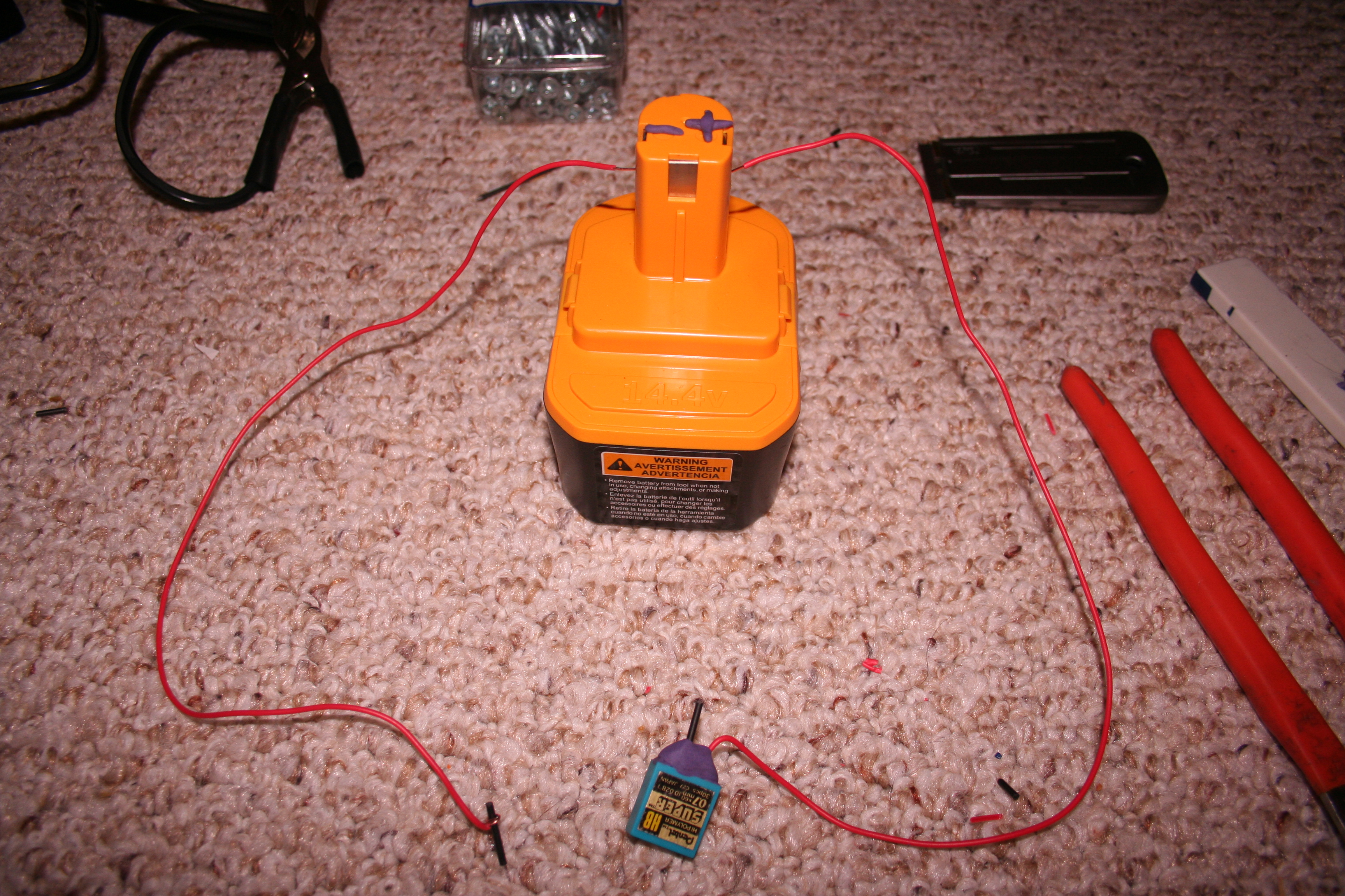 Picture of Electric Setup