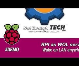 Raspberry Pi As Wake on LAN Server