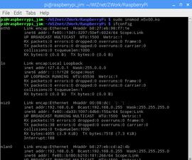 IoT Base Platform With RaspberryPi, WIZ850io : Ethernet Module Driver