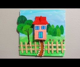 Kids Summer Crafts House Project: Made With Juice Box