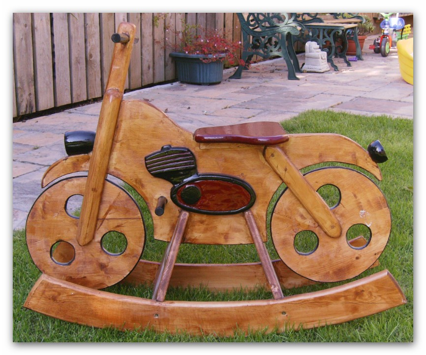 Picture of A Motor Bike - What a Rocking Ride