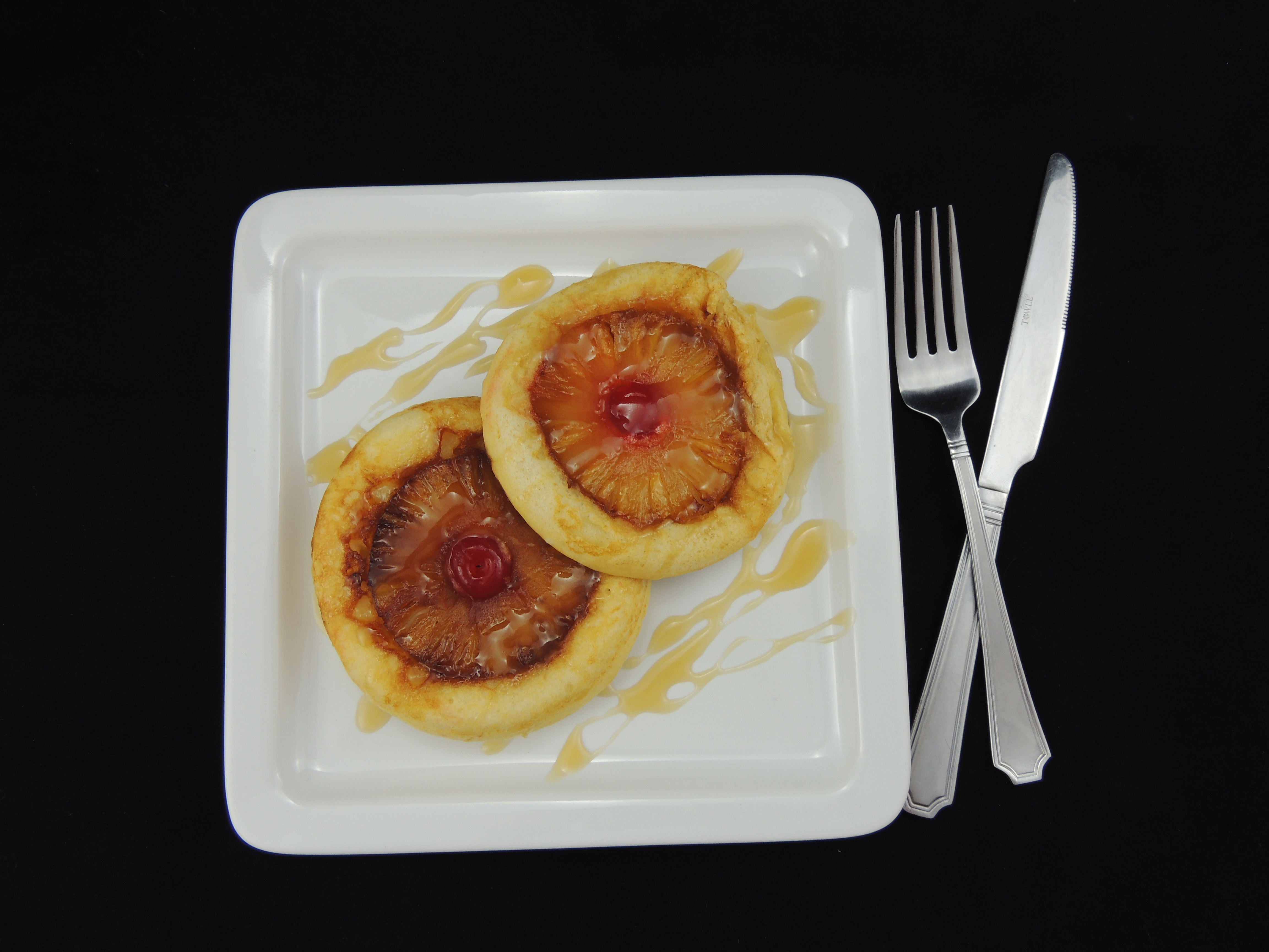 Picture of Pineapple Upside Down Pancakes (Gluten Free)