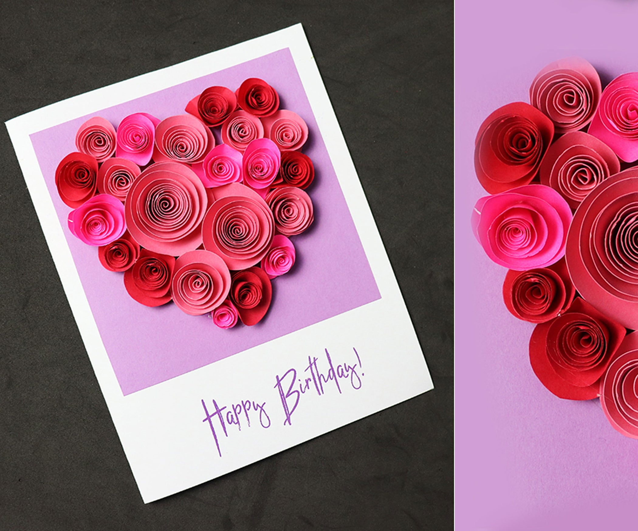 Beautiful Birthday Greeting Card Idea