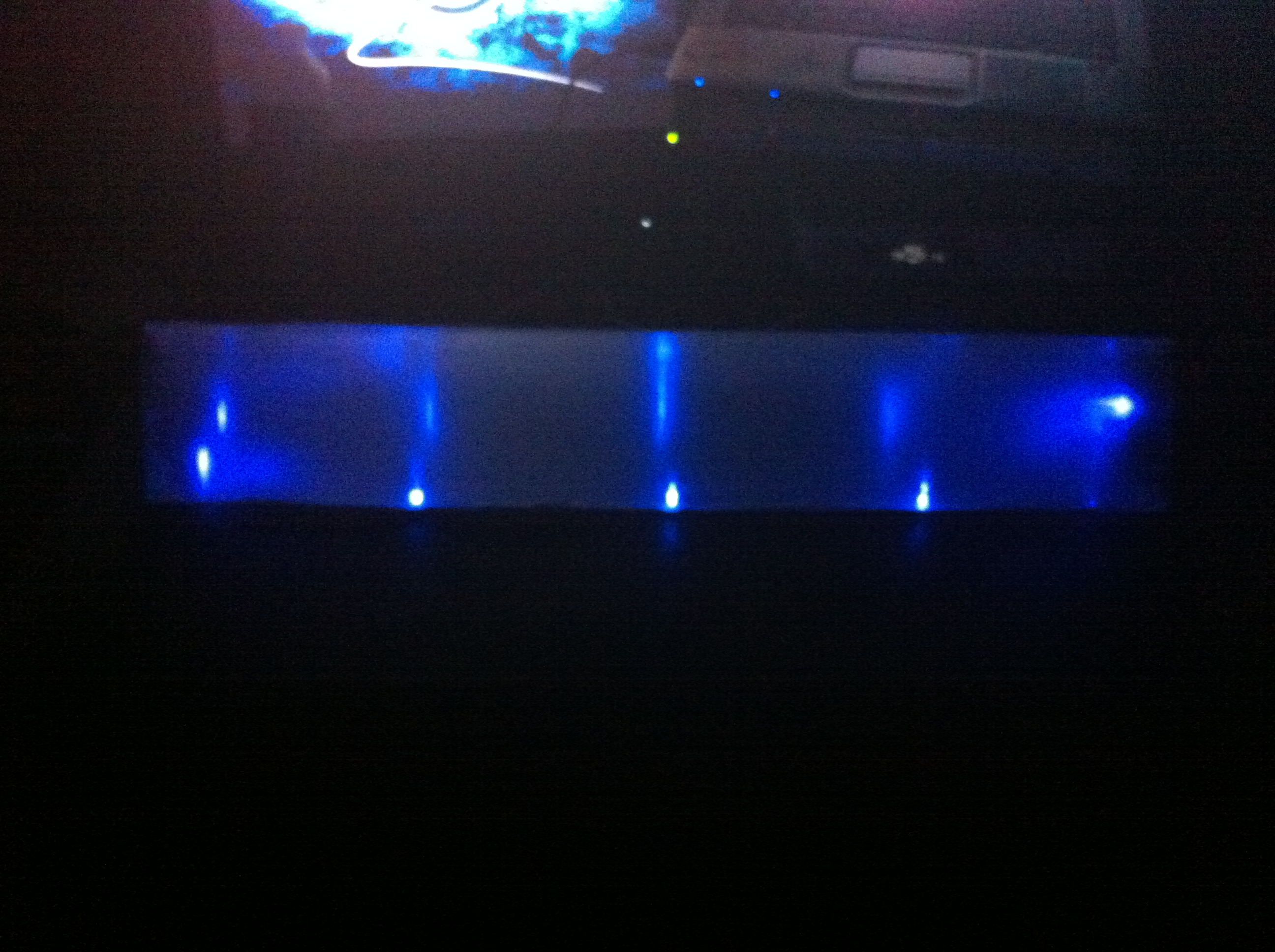 Picture of Tip31 + LEDs Glowing Tube