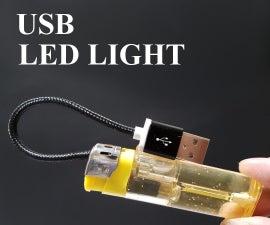 USB Light Using Lighter