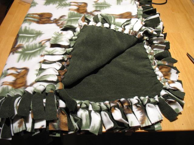 Picture of No Sew Fleece Blanket