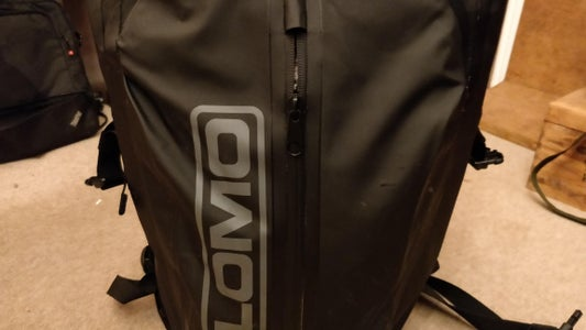 Hack a LOMO Drybag With Side-strap Patches