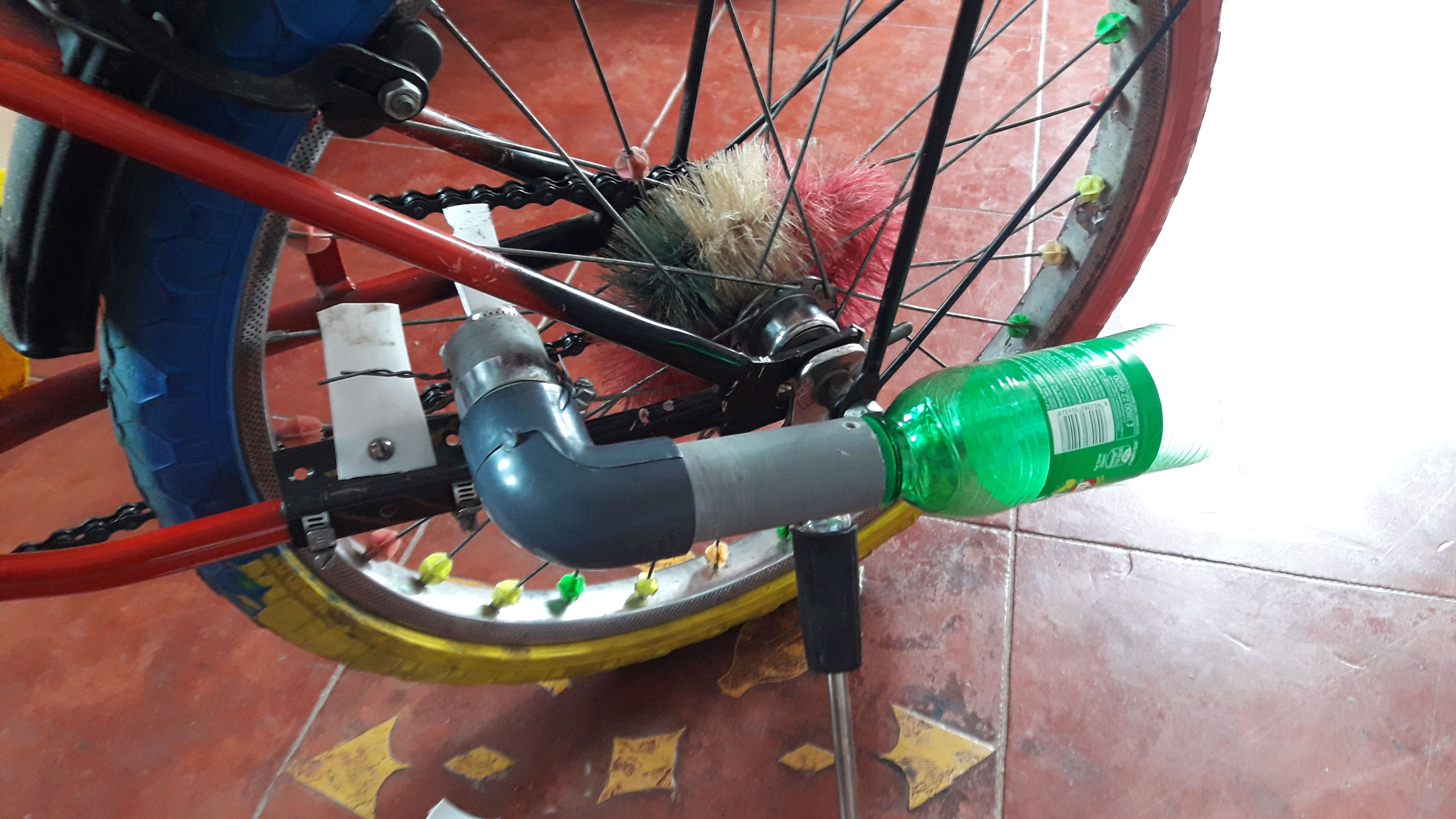 Picture of Make Your Bicycle Sound Like a Motor Cycle -  Turbo Spoke  - Twin Version