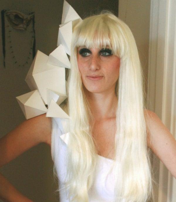 Lady Gaga Shoulder Sculpture Costume