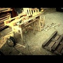 Dismantling Pallets - One Easy Way