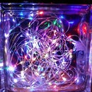 Breathe: Fading Fairy Lights in a Glass Block