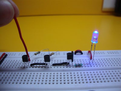 Project 3: Static Electricity Detector