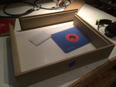 Cutting the Plexi and Assembly