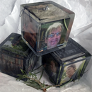 Photo Cube in Resin