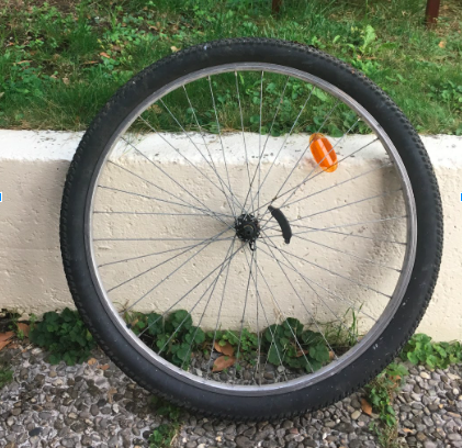 Picture of Getting the Bike Wheel Ready