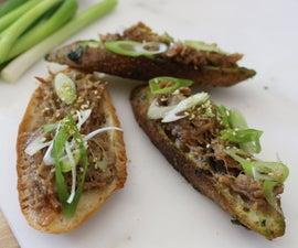 Kasuzuke Spring Onion Pork Rillettes