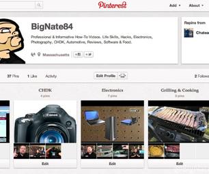 How to Rearrange Pinterest Pins