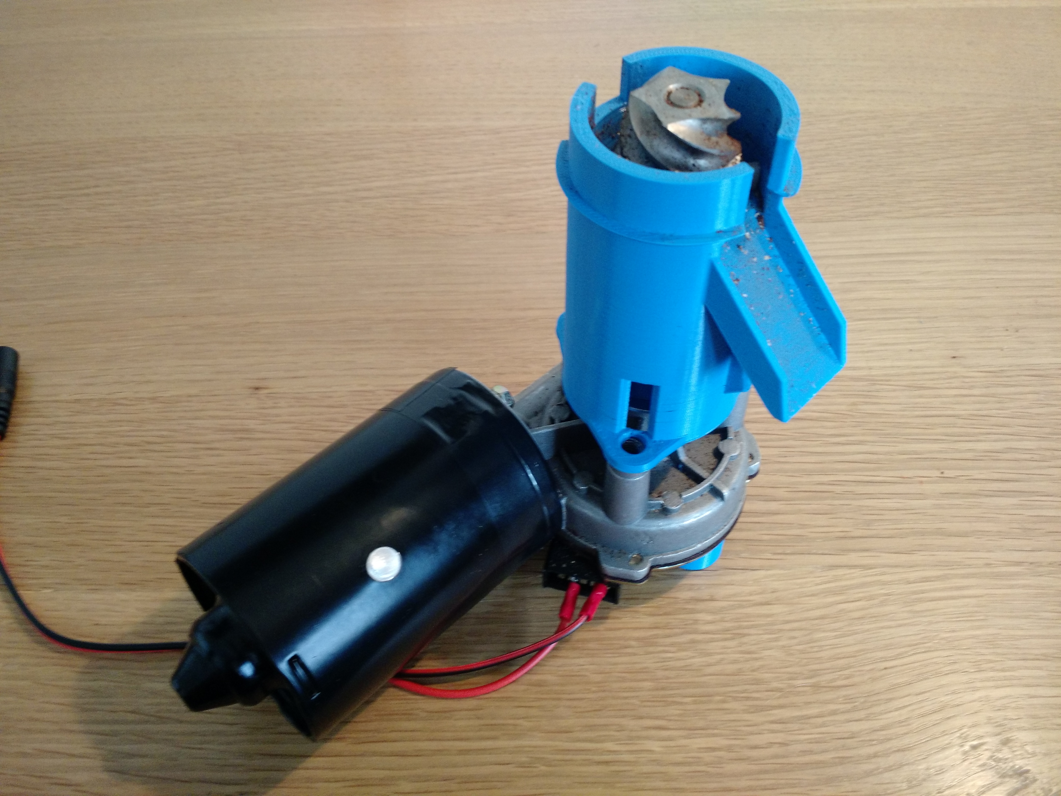 Picture of Attach Bottom to Motor