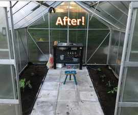 Fixing and Improving Old Greenhouse