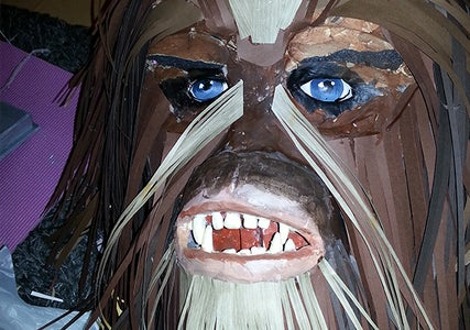 Layer the Wookie Hair