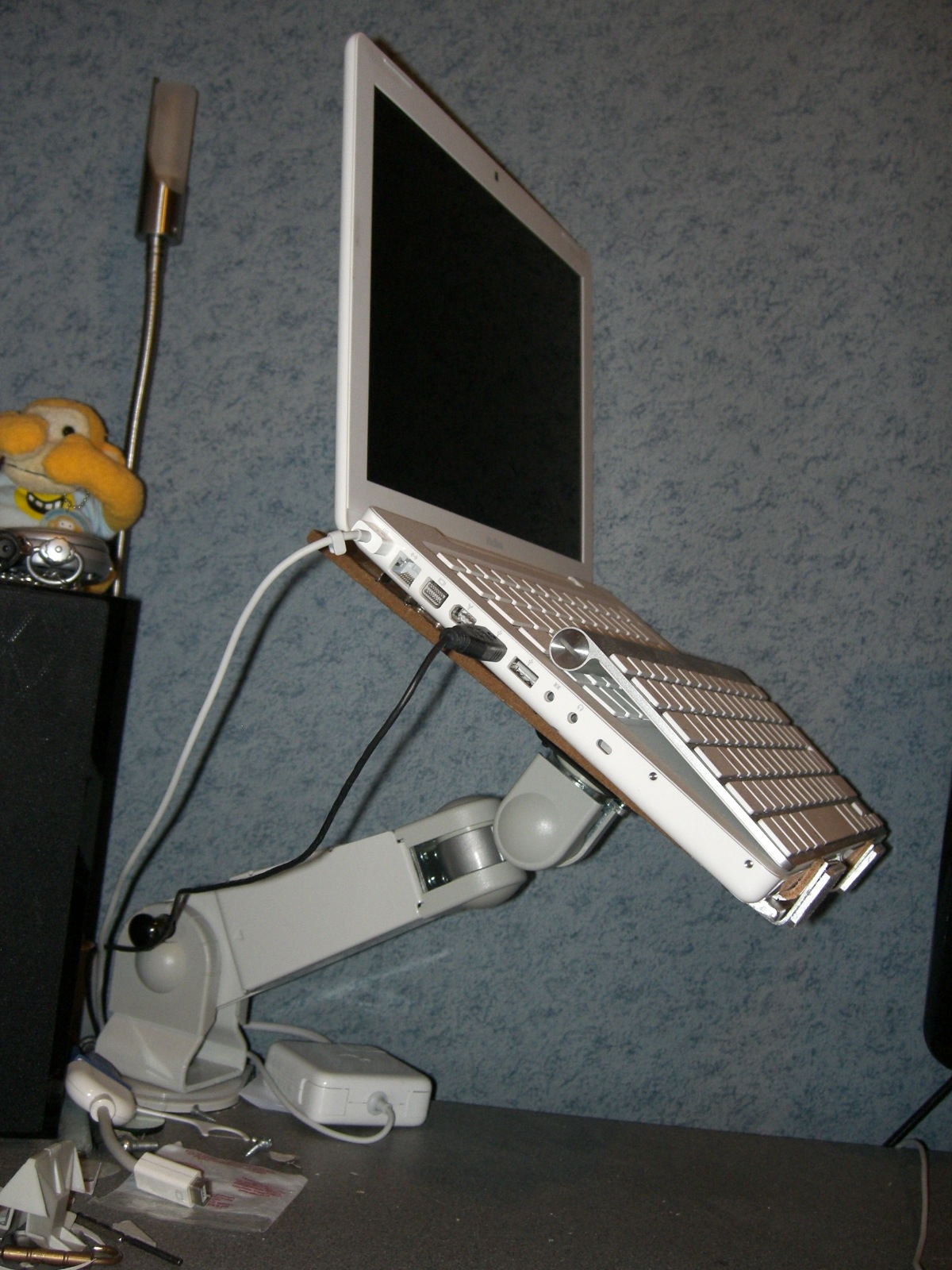 Picture of Adjustable Vesa Arm Laptop Stand