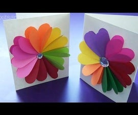 Valentine's Day Handmade Card - Easy DIY