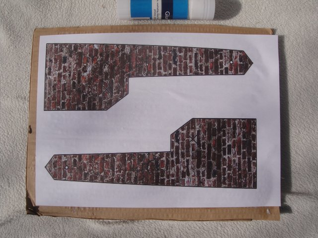 Picture of Cut Out and Assemble the Cardboard Base and Bricks.