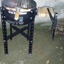Water Heater BBQ