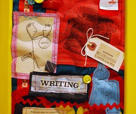 How to make an upcycled art quilt