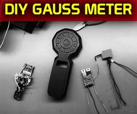 Dual Sensor Gauss Meter for Testing Magnet Strength