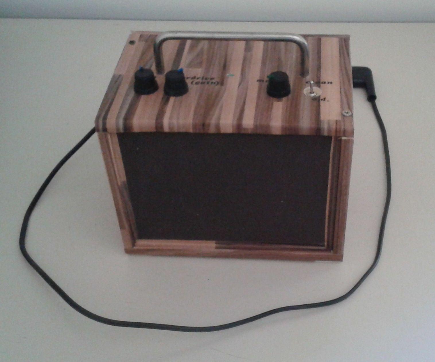 10 Watt Portable Guitar Amp With Distortion 7 Steps Pictures Tda2030 Audio Amplifier Circuit Diagram