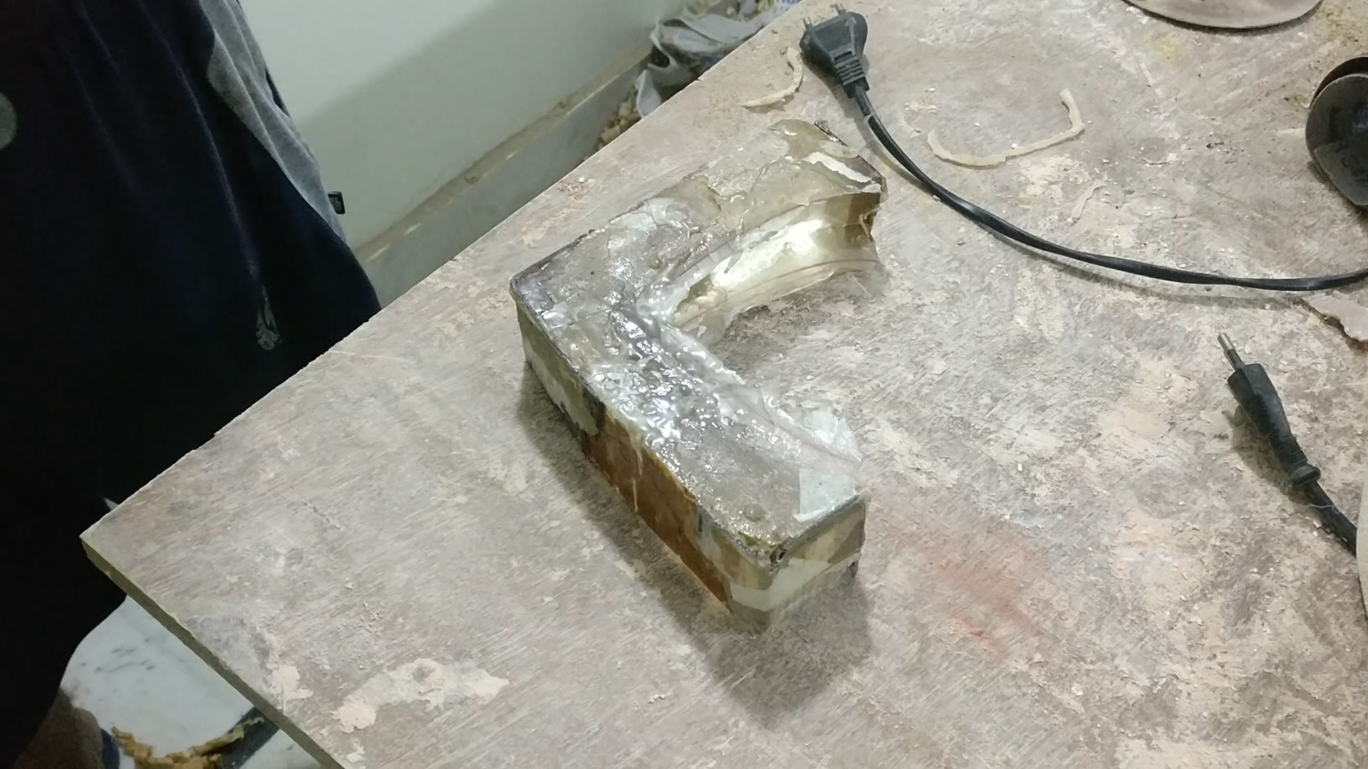 Picture of Casting the Stone Heart Holding Bracket