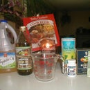 How to make exfoliating/moisturizing salt rub
