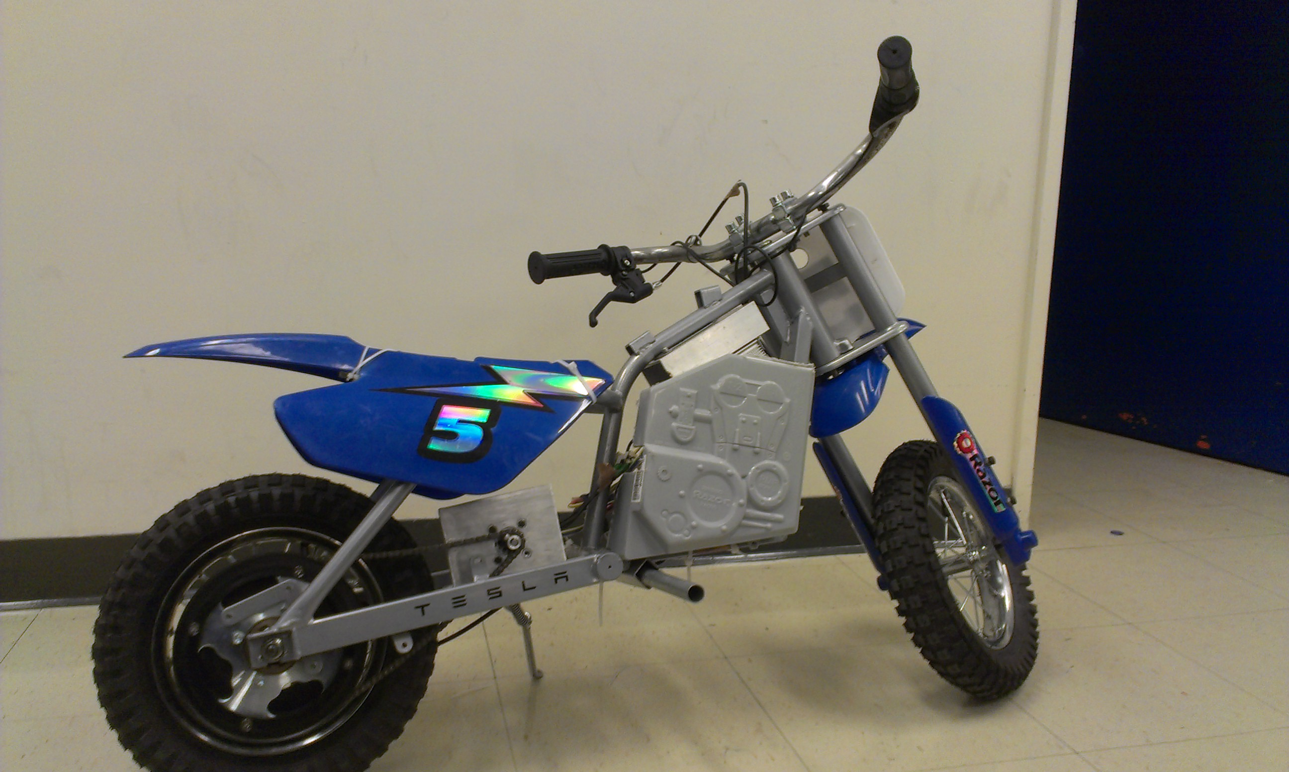 Picture of Electric Mini-Motorcycle!