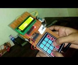 mobile phone using arduino