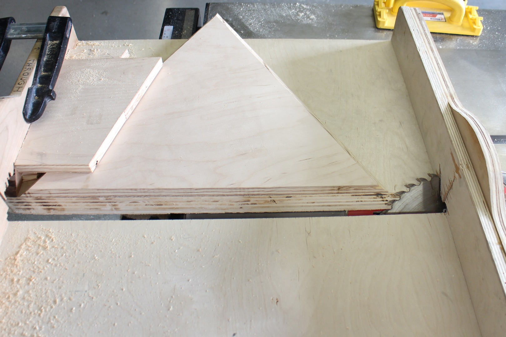 Picture of Cut Out on Table Saw