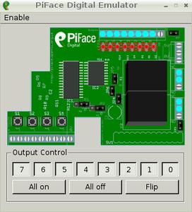 Testing the PiFace (Emulator)