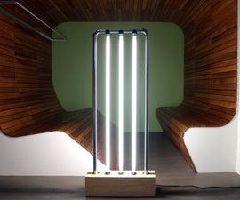 Fluorescent Tube Floor Lamp