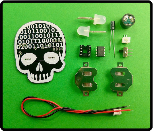 Picture of BitHead ATtiny85 Wearable Kit