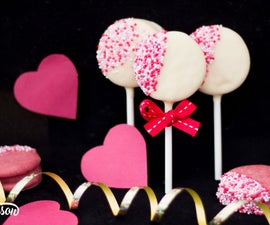 How to Make Easy Valentines Day Oreo Pops