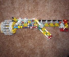 Piece Efficient K'nex Turret Rifle