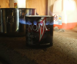 drthumbs' Venom alcohol  stove