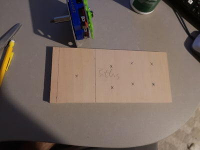 Woodwork- Button Panel