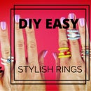 Easy and Pretty DIY Rings - Video Tutorial
